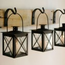 Silver Tealight Candle Stand Set